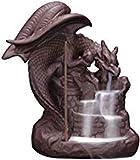 Yoga decorazione detentori di incenso Statue Decorativi Accessori per la casa Decorativi Figurine da collezione, Dragon Backflow Supporto di incenso cono Cono Cono Cono Incenso Supporto per ceramici S