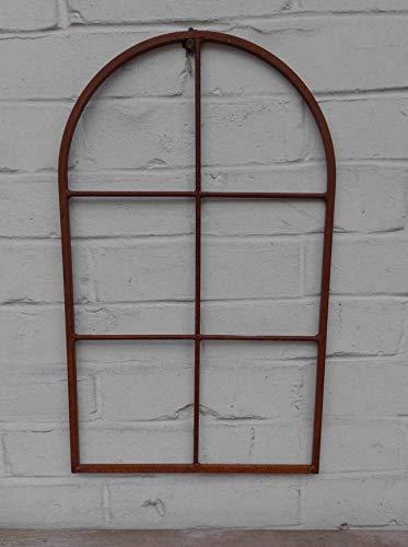 Deko-Impression Fenster Sprossenfenster Bilderrahmen Wanddekoration Eisen Rost massiv