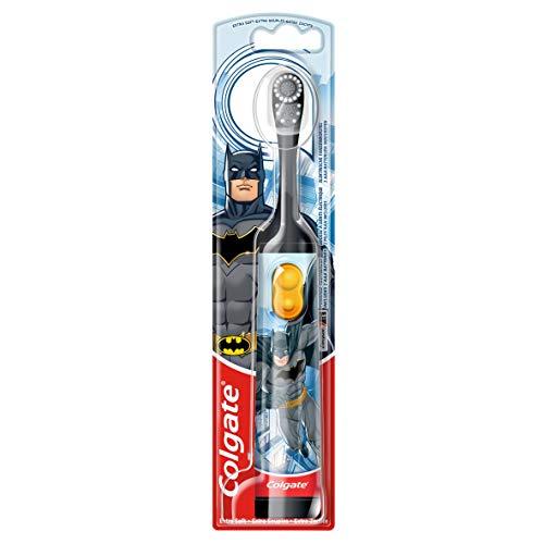 Colgate Oral Care Batman Zahnbürste, batteriebetrieben, für Kinder, extra weich, 3 Stück
