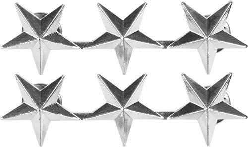 normani US Rangabzeichen aus Metall mit Nadelverschluss in verschiedenen Ausführungen Farbe Lieutenant General