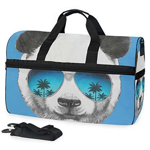 Bolsa de viaje Panda con espejo de sol bolsa de viaje bolsa...