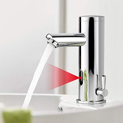 AuraLum Grifo Sensor Automático para Agua Fría y Caliente, Sin-contacto...