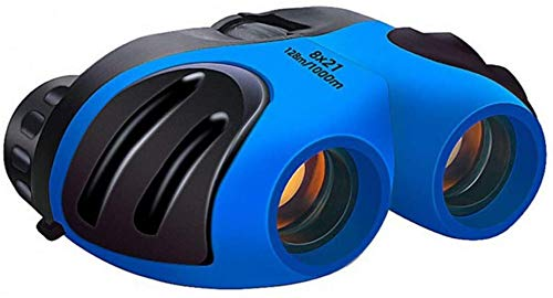 HLSH Fernglas-Teleskop 8 x 21 cm, kompaktes Fernglas, Zoom-Feldbrille, Handheld-Teleskop für Kinder
