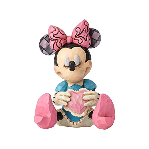 Disney Tradition Minnie Mouse With Heart Mini Figur
