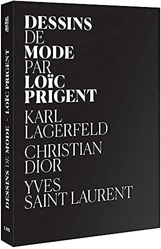 Fashion weekend ( Dessins de Mode: Karl Lagerfeld se dessine / Les dessins de Christian Dior / Les dessins d'Yves Saint Laurent ) [ Origen Francés, Ningun Idioma Espanol ]