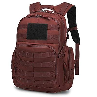 Mardingtop 25L Tactical Backpack 25L-Purplish Red