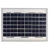 Paneles solares 12V 10W Panel Solar policristalino con Cable de...