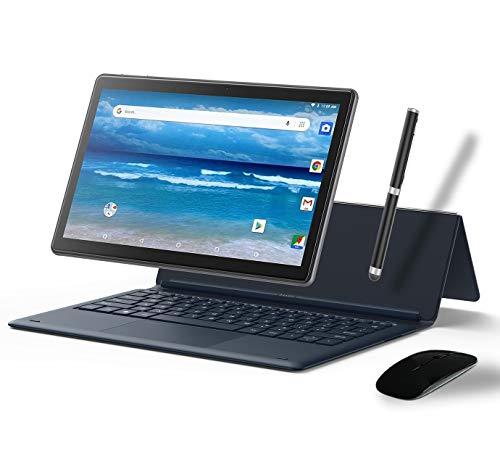 MEBERRY Tablet 11.6 Pulgadas,  Android Sistema 4GB RAM+ 64GB ROM - Certificación Google gsm- Dual SIM | 8000mAh | WI- FI | Bluetooth | GPS | Proyección(5.0+8.0 MP Cámara-  Cuerpo De Metal Gris