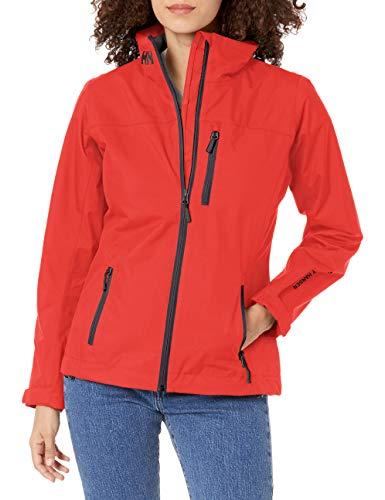 Helly Hansen W Crew Midlayer Jacket Chaqueta Deportiva, Mujer, Rojo Alerta, M