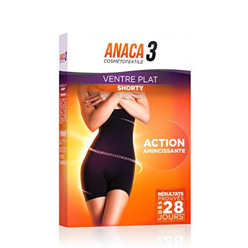 Anaca3 – Shorty Ventre Plat – Action Amincissante – Résultats Prouvés* – Taille L-XL