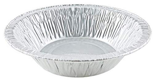 Durable Packaging 4-7/8' Foil Tart Pan (Durable 5' #2200) - Mini Aluminum Pot Pie Baking Plate Tin (Pack of 50)