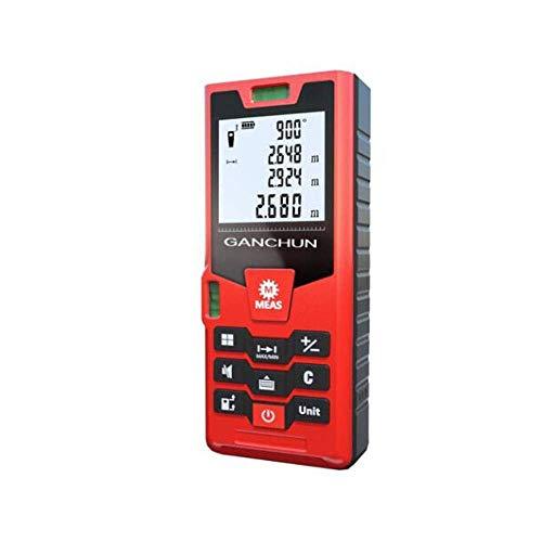 Fotingstarcase Telémetro, 60m USB difusión de la Voz de Carga telémetro, la decoración del hogar portátil Distancia infrarroja electrónica Instrumento de medición, de Alta precisión electrónica Regla