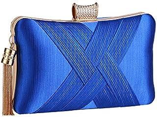 Best blue satin handbag Reviews