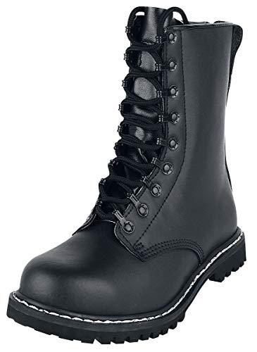Brandit Springerstiefel para Boots, Schwarz, 49 EU
