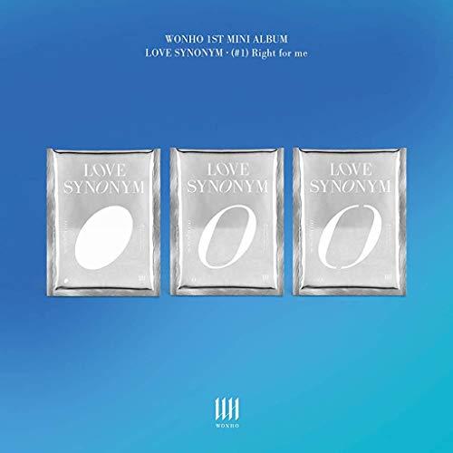 WONHO - Love Synonym #1. Right for me (1st Mini Album) Album+Pre-Order Benefit (3 ver.)