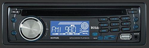 BOSS Audio 637UA Single-DIN Autoradio mit CD/MP3 Player 4x 60W schwarz