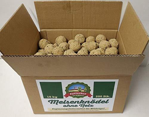 Futterhof Meisenknödel ohne Netz, 200 Stück (=18 kg) im Karton, GRATIS Versand mit DHL