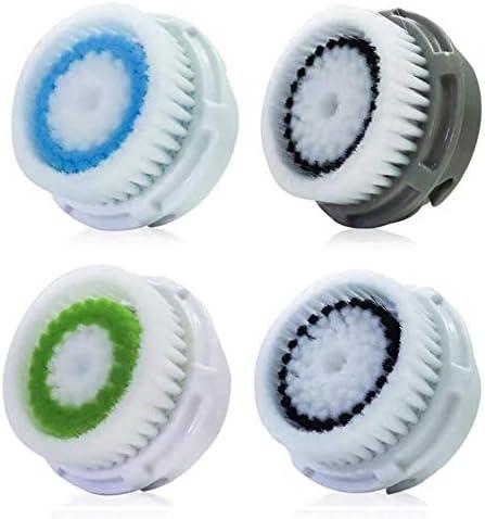 Paradise Emerald Facial Cleansing Brush Head Replacement 4Pcs Compatible Facial Cleansing Brush product image