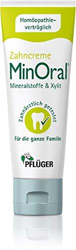 MinOral® – die homöopathieverträgliche Zahncreme, Pflege-Set 3x75ml