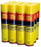 Recambio de líquido de combustible universal para encendedor Clipper, 300 ml, paquete de 12