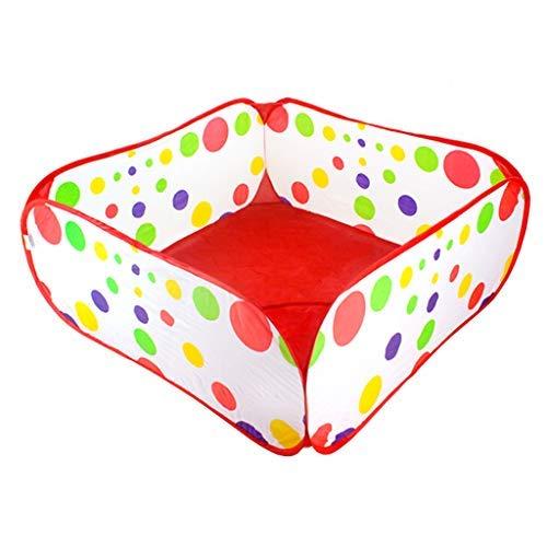 no brand Portable Pliant Pit Parcs for Enfants bébé for Tout-Petits garçons Playpen Filles Fun Temps coloré à Pois