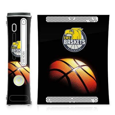 DeinDesign Skin kompatibel mit Microsoft Xbox 360 Folie Sticker Basketball Ewe Baskets Fanartikel
