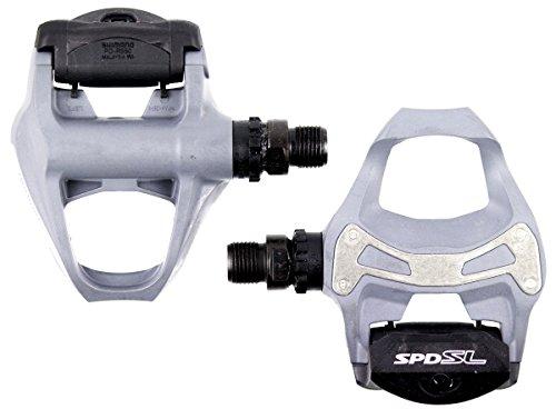 SHIMANO PD-R550 SPD-SL Road Pedals; Gray