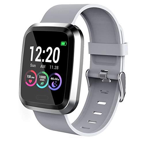 Fitness Tracker con contapassi contacalorie da 1,3 pollici con schermo tattile a Colori da 1,3 pollici Smart braccialetto contapassi per uomini e Donne,