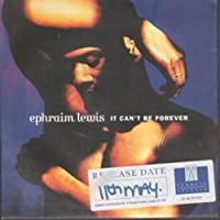 It can't be forever [Single-CD]