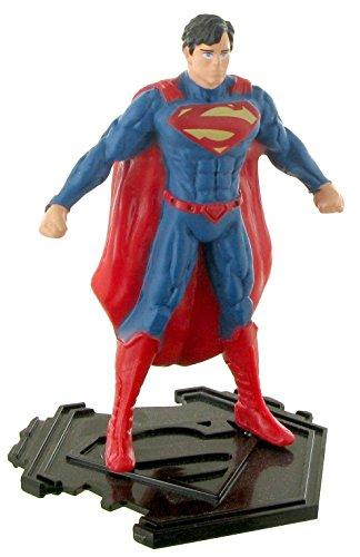Figuras de la liga de la justicia – Figura Superman fuerza - 9 cm - DC comics - Justice league - liga de la justicia (Comansi Y99193)