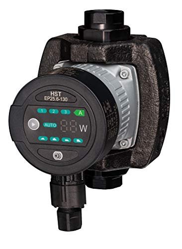 HST | Hocheffiziente Heizungspumpe | Umwälzpumpe | HST EP 25-60 / 130 mm | 6 Meter Förderhöhe