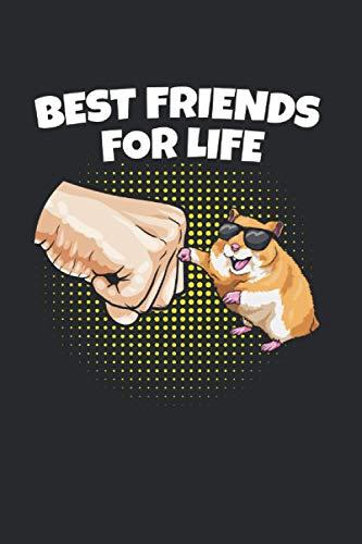 BEST FRIENDS FOR LIFE: Nagetiere Notizbuch A5 Dotted I 6x9 Schreibheft für Notizen und Ideen I Tagebuch Journal 120 Seiten Hamster MomMama Goldhamster Zwerghamster