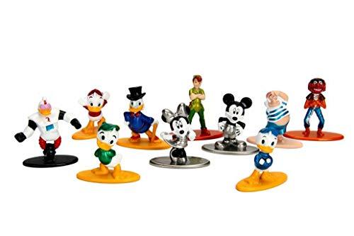 Pack A com 10 Disney Nano Metal Diecast - DTC 4293