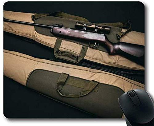 Schuss auf den Kopf der Trepidation Army Bag Brown Mauspad 30 * 25 * 0,3 cm mit genähten Kanten für zu Hause und im Büro rutschfest für zu Hause und im Büro