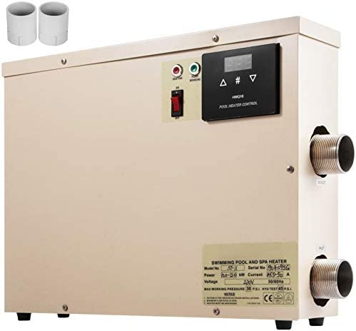 VEVOR Electric Pool Heater 11KW 220V Swimming Pool Electric Heater SPA Water Bath Heater Electric product image