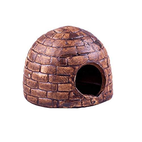 OMEM Reptiel Terrarium Landscaping Spider Hideout Grotten Oude Architectuur Klei Pot Decoratie, tank