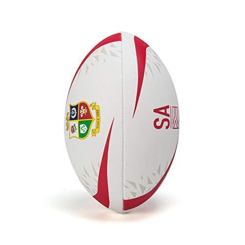 Canterbury of New Zealand Unisex British and Irish Lions Mentre Sponsor Rugbyball, Weiß, 5