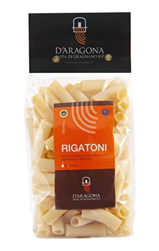 PASTA D'ARAGONA GRAGNANO IGP - PACCO RIGATONI - trafilata al bronzo 10 x 500 GR