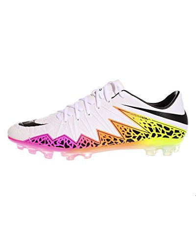 Nike Herren Hypervenom Phinish AG-R Fußballschuhe, Blanco (Blanco (White/Black-Total Orange-Volt), 42 1/2 EU