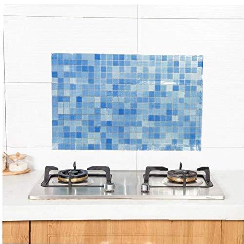 CULER Mosaik-Fliesen-Aufkleber-entfernbarer Tapete DIY Küchentisch Self Adhesive Aufkantung Tapeten Home Decor
