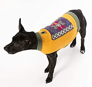 Happiness Hugs Karma Hug Dog Sweater - Handmade Yak Down Dog Sweaters, Softer and More Sustainable Than Cashmere, Warmer Than Merino Wool, Breathable, Fashionable and Eco-Friendly