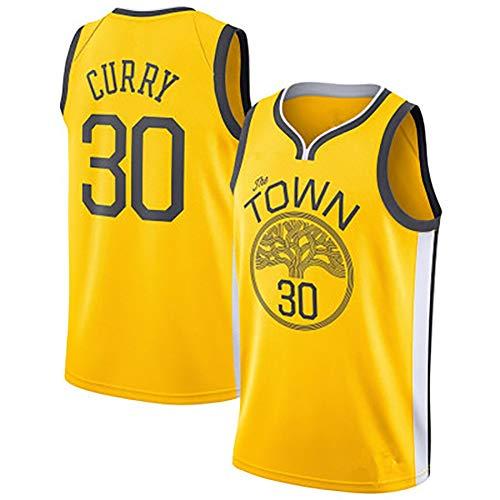 TIEON Warriors No. 23 Verde, Uniforme de Baloncesto Talla 30, Uniforme de Entrenamiento para Hombres, Chaleco de Baloncesto, Tejido Transpirable e hidratante de Secado rápido.-B-L