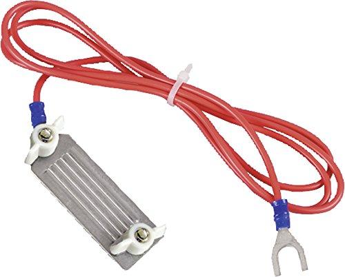 Cable de raccordement cloture ligneruban, acier, avec fiche 3 mm, pour rubans 40 mm, l'unité - 170601