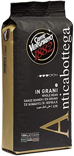 1 kg Caffè Vergnano Antica Bottega Grani 100% Arabica. Coffee Beans Arabica 100%
