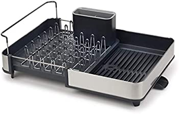 Joseph Joseph Stainless-Steel Extendable Dual Part Dish Rack