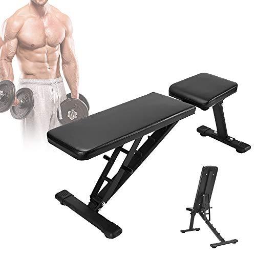 HZGrille Verstellbare Bank Fitness füR Krafttraining und BauchmuskelüBungen zu Hause, Multifunktions-HantelbäNke füR Den Ganzen KöRper - Es Ist Keine ZusäTzliche Installation Erforderlich
