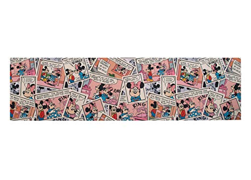 CapitanCasa Tappeto Passatoia Antiscivolo Stampa Digitale Sprinty Disney D. Comics 52x230 Comics