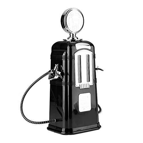 VBESTLIFE Double Guns Wein Getränkepumpe,1000cc Alkohol Bier Dispenser für Bars, Hotels, Teehäuser, KTV, Familie usw.(Schwarz)