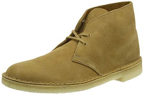 Clarks ORIGINALS Men's Desert Boots, Yellow Oak Nubuck Oak Nubuck, 7 UK