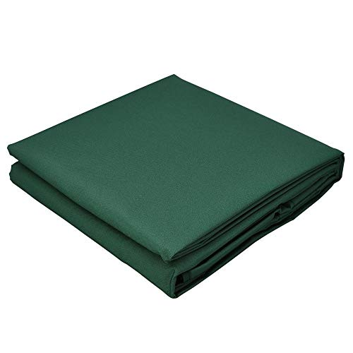 Green cover is suitable for swing chair canopy garden bench awning terrace hammock canopy swing chair awning (Color : Green, Specification : 190x132cm)